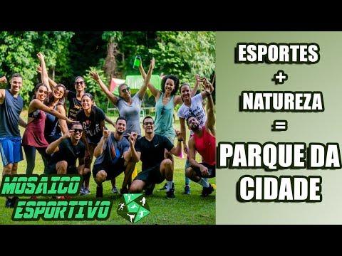 Parque da Cidade - Esportes e Exercícios Físicos juntos da Natureza!