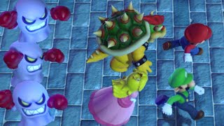 Super Mario Party Minigames - Luigi vs Bowser vs Mario vs Peach