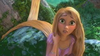 Disney Tangled Glitch - characters spinning and sinking (Wii)