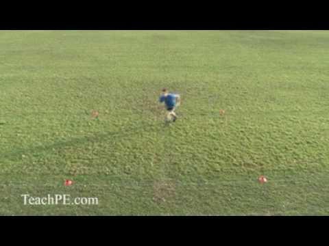Basic Agility Soccer Football Drills The Bow Tie Drill