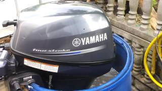 2015 Yamaha F 9.9 hp HMH outboard motor 4-stroke ( 4-SUW )