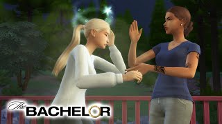 GIRL FIGHT! - The Bachelor Ep. 4  The Sims 4