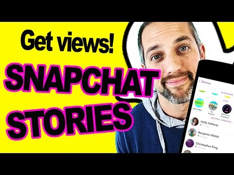 How to view snapchat stories of non friends