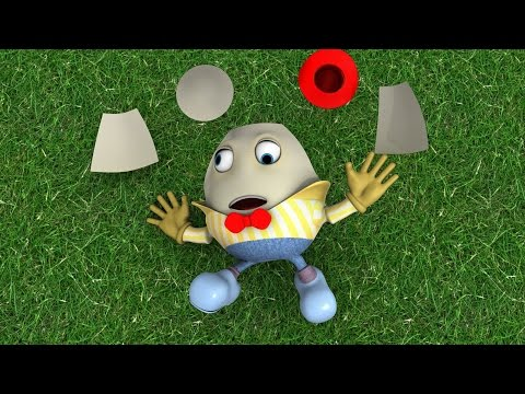 Humpty Dumpty 3D - Nursery Rhymes I Children Songs I Baby Rhyme I Toddler Kids Song I Kindergarten