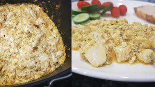Tofu Scramble In the Air Fryer?! Best Vegan Breakfast Recipe Ever!