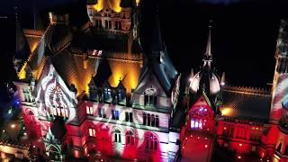 Schloss Drachenburg Schlossleuchten-Kopter in Bonn-Kopter in Köln KIRO Media 2018 DJI Inspire 2 X5S