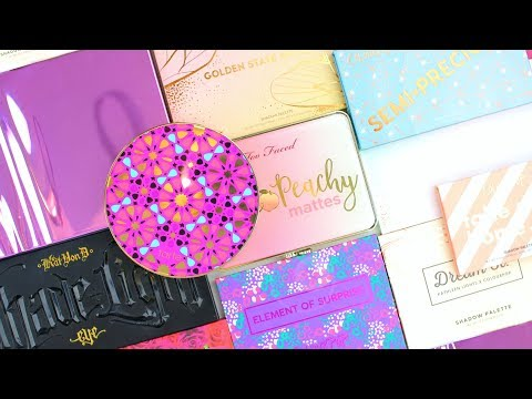 BEST PALETTES TO GIVE AS GIFTS! 🎁 HOLIDAY GIFT IDEAS 2017