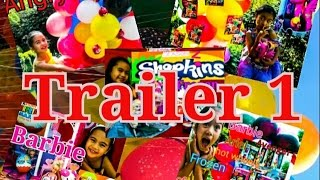 Trailer 1 Biggest Ever Balloons Nerf Frozen MLP Barbie Peppa Pig Playdoh Shopkins Kids Balloons Toys