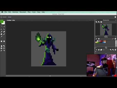 How To Pixel Art Tutorial Part 11: Character Design