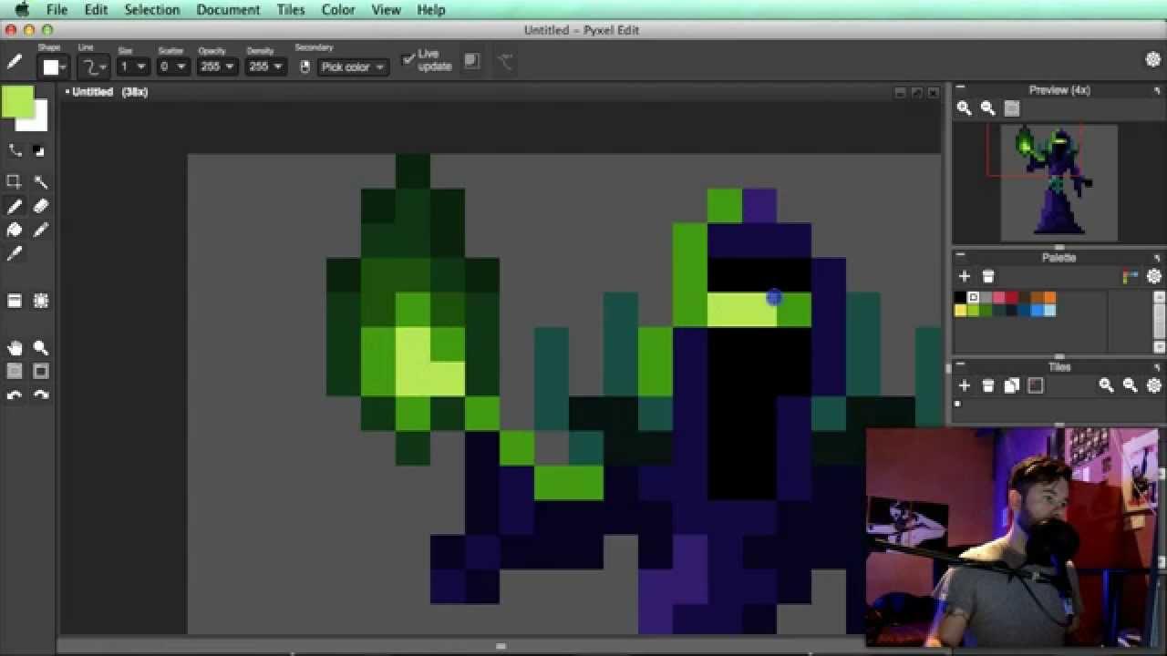 How To Pixel Art Tutorial Part 11 Character Design
