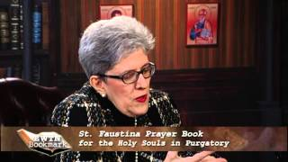 EWTN Bookmark - 2016-05-15 - St. Faustina Prayer Book For The Holy Souls In Purgatory