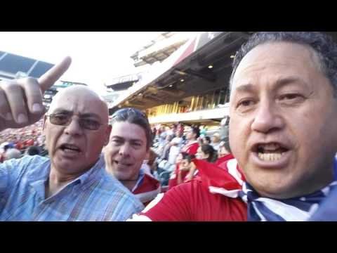 Himno de Chile en Lincoln Financial Field Philadelphia 2016 Chile 4 Panama 2