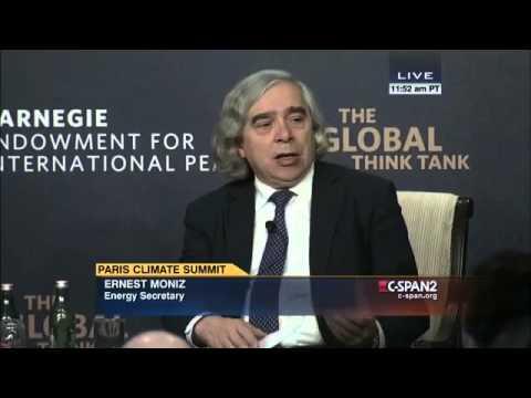 Energy Secretary Ernest Moniz on Climate Change