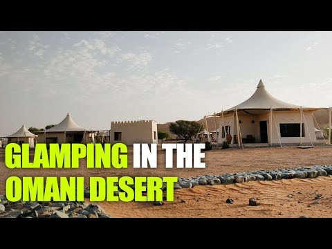 Oman Travel Tour Ep 5 - Go Camping in The Middle Of Omani Desert | Curly Tales