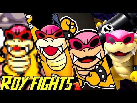 Evolution of Roy Koopa Battles (1988-2017)