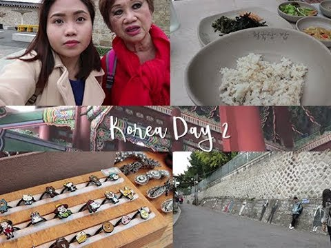 Korea Travel Vlog DAY 2 - 3   Discover Seoul Pass, Gyeongbokgung Palace, Buckhon Hanok Village
