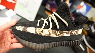 CRAZY BAPE YEEZY CUSTOMS AT SNEAKERCON CLEVELAND!