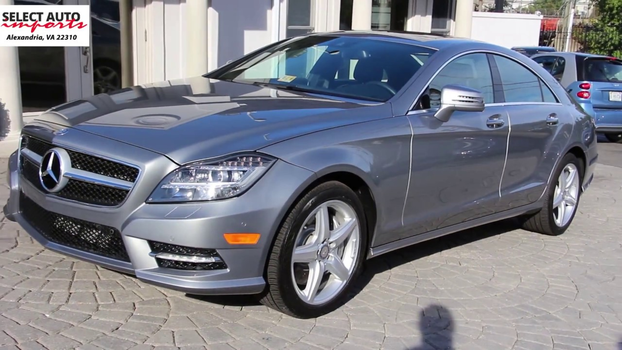 Superb 2014 Mercedes Benz CLS550 4Matic Palladium Silver Metallic Select Auto  Imports In Alexandria VA