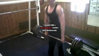 16 year old bodybuilder jake bamford deadlifts 65kg 25 08 2011