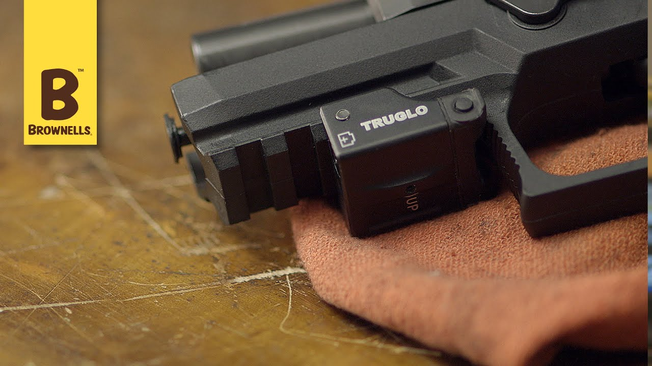 Truglo Micro Tac Tactical Micro Laser Youtube
