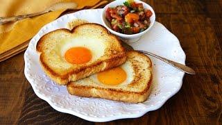 Домашние видео-рецепты - яичница с сыром в мультиварке