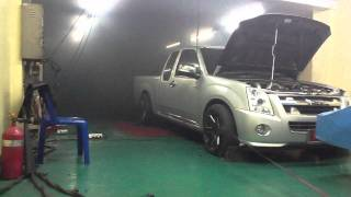 D-max 2500 Turbo STD On Dyno Tuning F-CON iD BY.T-Speed 02
