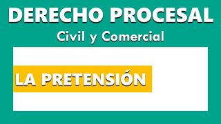 The Claim in Procedural Law