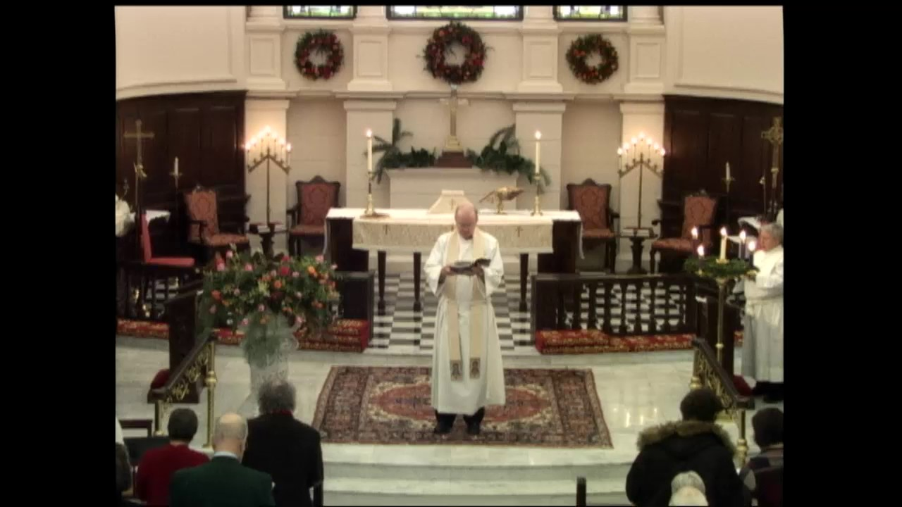 holy eucharist rite ii at the 1000 am service december