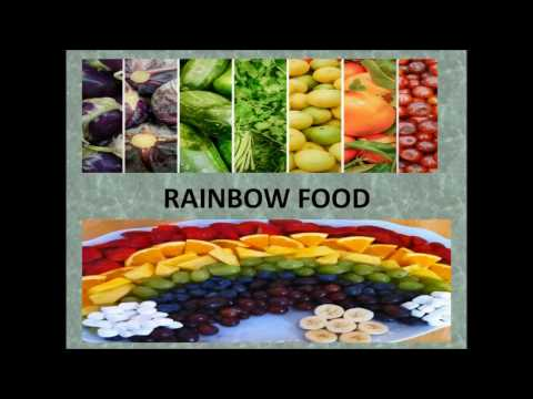 Rainbow Diet:- Important for fitness and Health conscious people