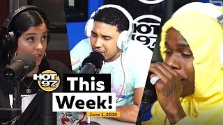DA BABY, GOODZ DA ANIMAL, NEW PRINCE MUSIC, and more on #hot97thisweek