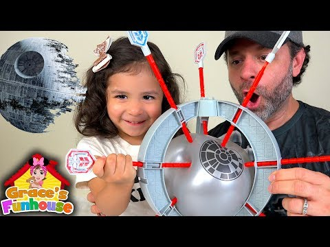 Death Star Boom Boom Balloon Star Wars Egg Surprise & Hot Wheels, Family Fun Games Toys Review
