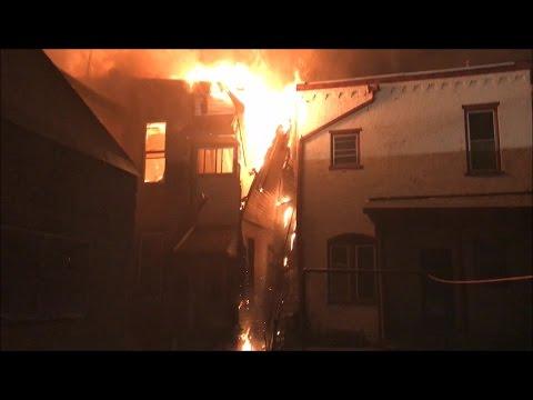 Shamokin Fire Bureau - MULTI-Alarm Fire - Penn Jersey Mart - 316 North Shamokin St. (FULL Video)
