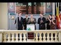 First trading of the Gold Bullion Securities tracker on NYSE Euronext Brussels