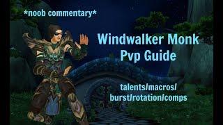 WINDWALKER MONK PVP GUIDE - World of Warcraft 7.3