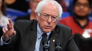 Media Screaming At Bernie To Drop Out