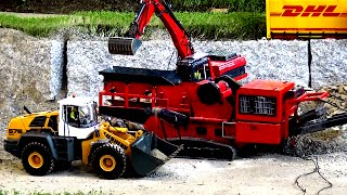 RC Construction Site Drum Screening Machines Baustelle Siebmaschinen ♦ Modellbau Friedrichshafen