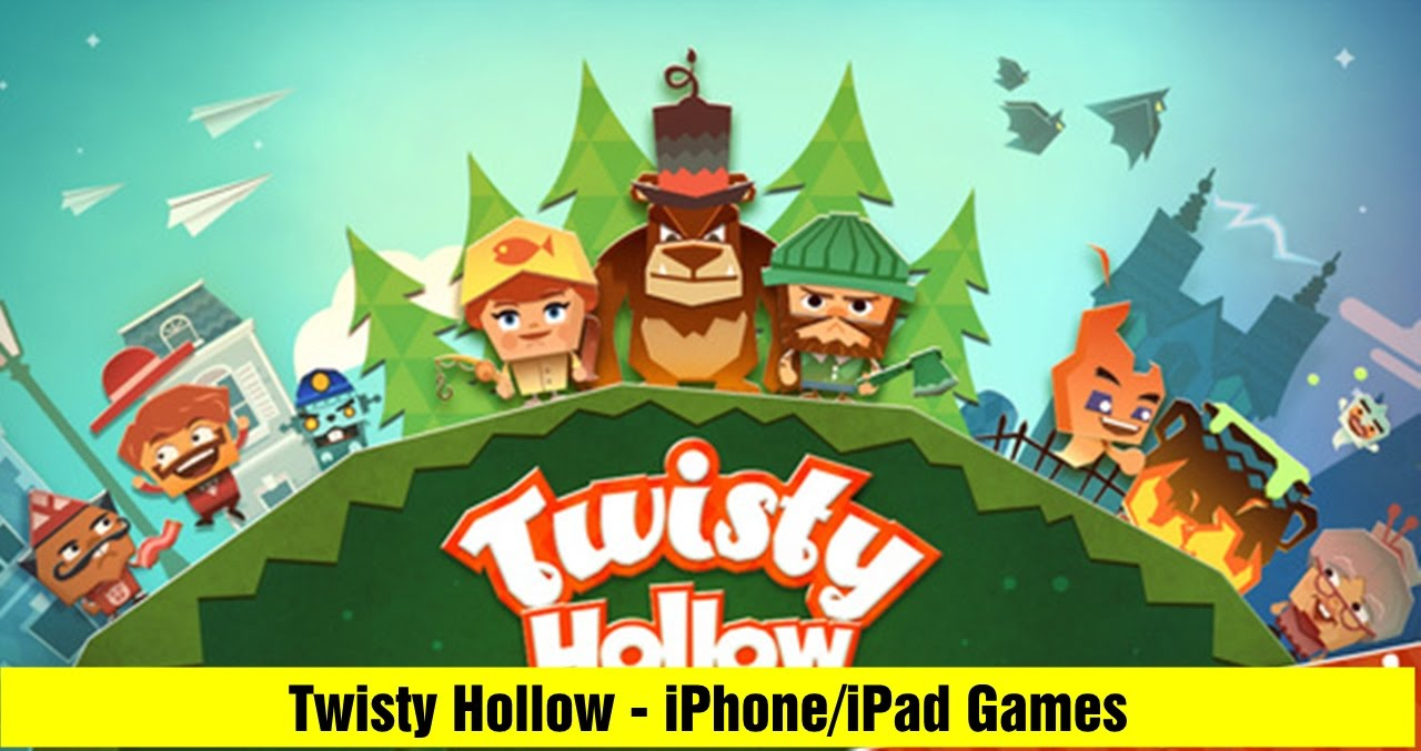 Twisty Hollow(Puzzle Game) - iPhone/iPad Official GamePlay Trailer