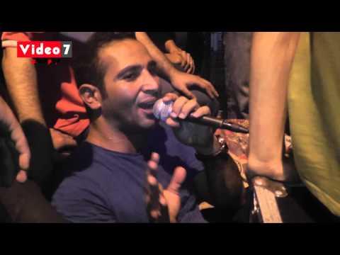 أحمد سعد يغنى خرم إبرة على منصة الاتحادية thumbnail