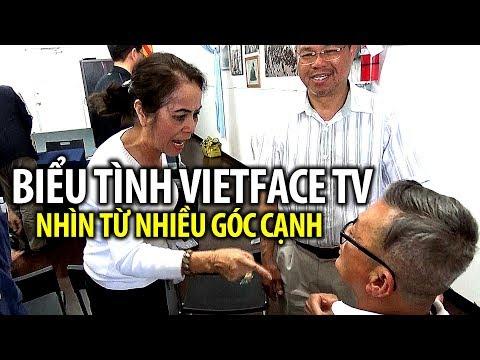 Biểu tình chống Vietface TV: Soi rọi nhiều góc độ với bà Trần Thanh Hiền