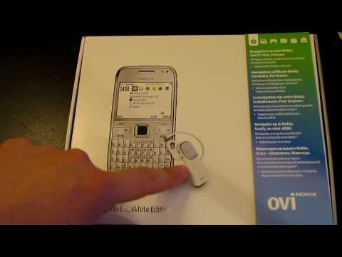 Nokia E72 White Edition Unboxing