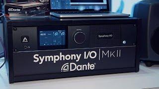 Apogee add Dante connectivity to their Symphony I/O Mk II.