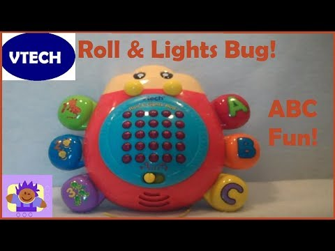 Vtech Roll and Lights Bug Educational Toddler Toy
