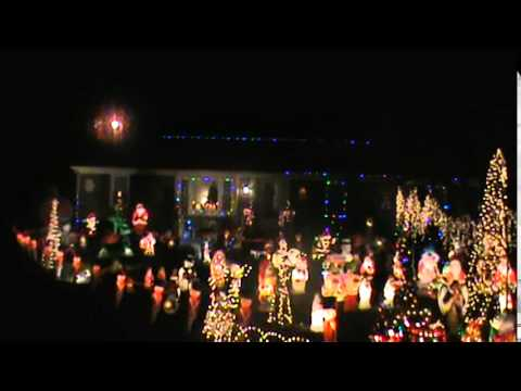 Leake's Outdoor Christmas Light Display Mechanicsville Virginia