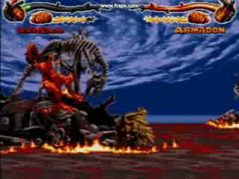 Primal Rage Genesis Final Battle - YouTube