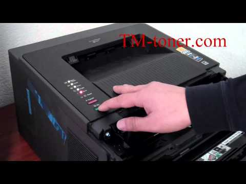 How to reset the toner cartridges for Brother printer