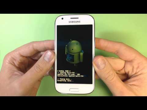 Samsung Galaxy Ace 4 G357FZ hard reset