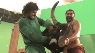 Bahubali Bhallaladeva Bull Fight, Behind the Scenes