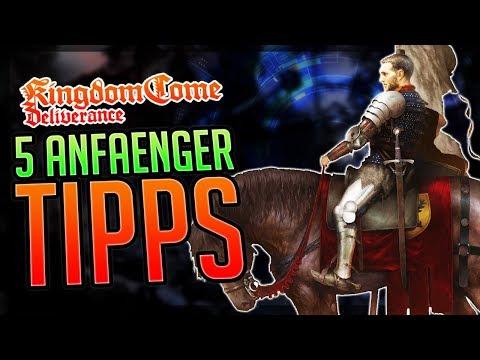5 ANFÄNGER TIPPS Kingdom Come: Deliverance Beginner Tips - Einsteiger Tipps & Tricks