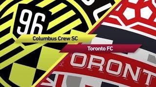 Match Highlights: Toronto FC at Columbus Crew SC (1st-Leg) - November 21, 2017