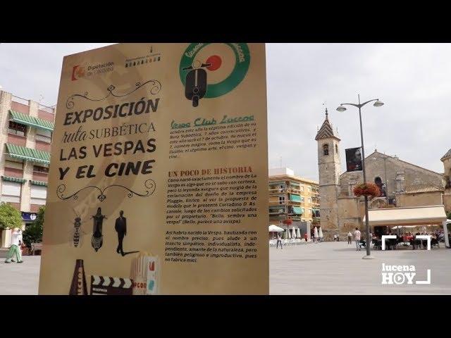 VÍDEO: Una exposición recoge la 'historia de amor' entre el cine y las Vespas